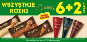 Wszystkie Rożki Marletto - 6+2 gratis - Biedronka
