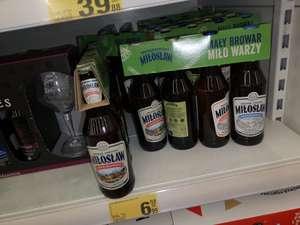Piwo miłosław zestaw 4 piw