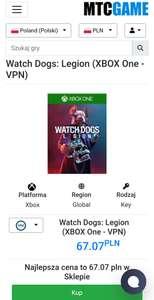 Watch Dogs: Legion Xbox One MTC Revolut