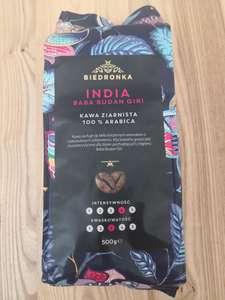 Biedronka Kawa India Baba Budan Giri 100% Arabica 500g