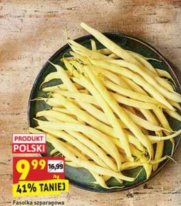 Fasolka szparagowa żółta [cena za 1 kg]