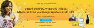 Promocja na sokowirówki, blendery, wyciskarki itp. w aplikacji mobilnej @ al.to