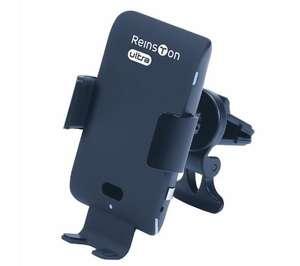 Uchwyt na smartfona z ładowaniem indukcyjnym Reinston EUT24 za 90zł @ RTV Euro AGD