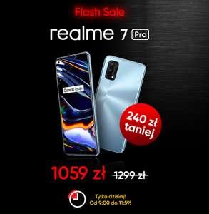 smartfon Realme 7 Pro 8+128GB taniej o 240zł