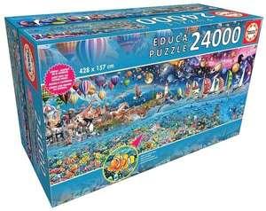 Puzzle 24000 elementów