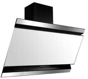 Okap kuchenny kominowy VDB DECO Black 60 White 450 m3/h @ Neonet