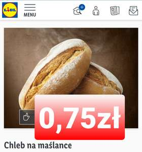 Chleb na maślance LIDL