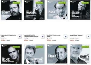 Audiobooki z cyklu Mistrzowie Słowa - 33 tomy do wyboru