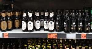 Piwo Komes porter, poczwórne i potrójne but.0,5L zwr (30 gr) /Kaufland/