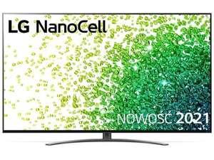 Telewizor LG 55NANO863PA (120Hz, HDMI 2.1) + słuchawki LG TONE HBS-FN4