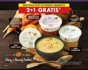 Zupy z Naszej Kuchni 2+1 Gratis