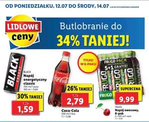 Butlobranie w Lidlu do 34 % taniej
