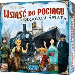 Gra planszowa - Wsiąść do Pociągu: Dookoła Świata (BGG 7.4)