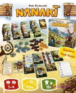 Nanaki - gra planszowa (edycja Wspieram.to)
