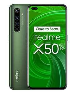 """Realme X50 Pro 5G 8/256 GB, Amoled 6.44"""" Snapdragon 865, głośniki stereo, 65W, NFC, 4+2 aparaty. Smartfon sprzedaje Amazon.es"""