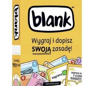 gra planszowa karcianka BLANK