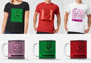 Koszulka, kubek oraz zestaw podstawek Super Mario za £10.99 @zavvi