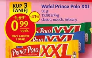 Wafelek Prince Polo XXL 50 g przy zakupie 3 szt. @Delikatesy Centrum
