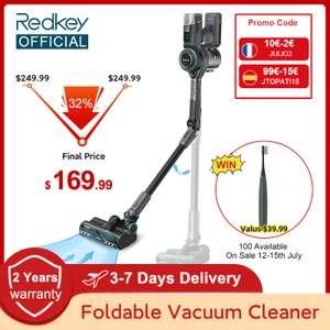 Odkurzacz bezprzewodowy Redkey F10 - 183,26$