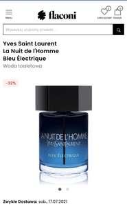 Yves Saint Laurent La Nuit de l'Homme Bleu Électrique