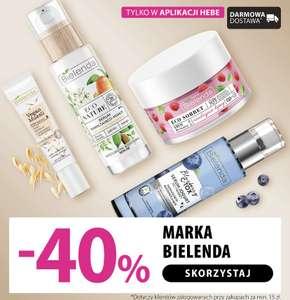 Do -40% na markę Bielenda | Hebe