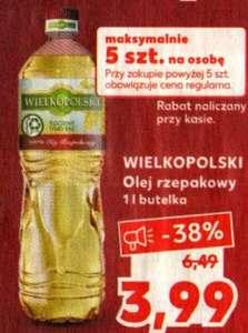 Olej Wielkopolski 1L butelka @Kaufland