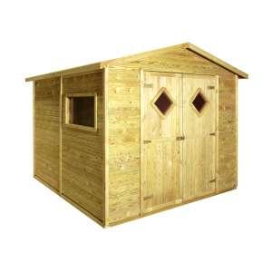 Domek narzędziowy drewniany CARO 264 x 262 cm - LM