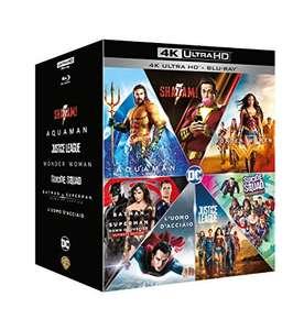 Dc Comics Boxset, Filmy 7x 4K UHD HDR + 7x Blu-Ray