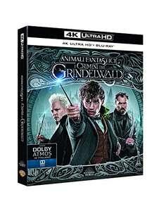 Fantastyczne zwierzęta: Zbrodnie Grindelwalda, Film 4K UHD HDR Blu-Ray + Blu-Ray 13,14€