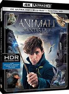 Fantastyczne zwierzęta i jak je znaleźć, Film 4K UHD HDR Blu-Ray + Blu-Ray 13,88€