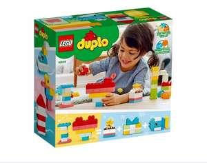 Klocki Lego Duplo Classic 10909 Pudełko z Serduszkiem | 80 elementów | 18 m + | wysyłka 0 zł ze Smart |