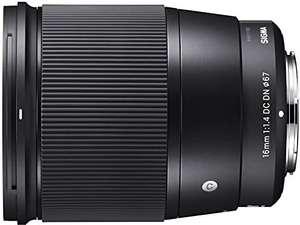 Sigma 16mm f/1.4 DC DN Sony E