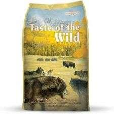 karma dla psa z mięsem bizona Taste of the Wild High Prairie Canine 12,2kg pies