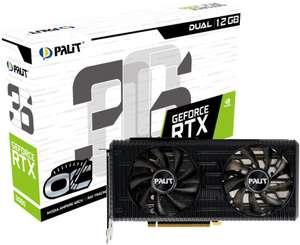 Karta graficzna PALIT GeForce RTX 3060 Dual OC 12GB