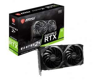 Karta graficzna MSI GeForce RTX 3070 Ventus 2X OC 8GB GDDR6