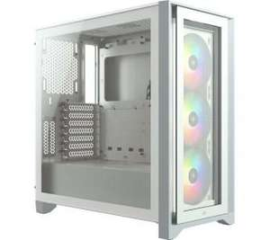 Obudowa PC Corsair iCUE 4000X RGB (biały)