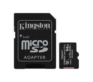 Kingston microSD Canvas Select 64GB 100/30MB/s