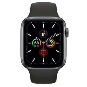 APPLE Watch Series 5 GPS+Cellular Koperta 44 mm z aluminium w kolorze gwiezdnej szarości z paskiem sportowym w kolorze czarnym MWWE2WB/A