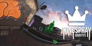 Kingspray Graffiti w Oculus Quest Daily Deal $9,99