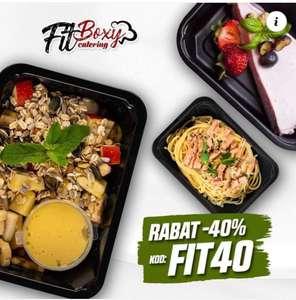 Catering dietetyczny fitboxy taniej 40%