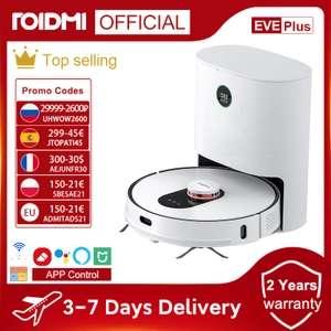 Robot sprzątający ROIDMI EVE Plus WYSYLKA UE/PL 402 EUR/1847zl z VAT
