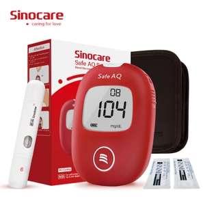Sinocare Safe AQ Smart mg/dL mmol/L Blood Glucose Meter - urządzenie do pomiaru poziomu cukru we krwii, wysyłka z PL