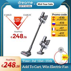 Dreame V12 Cordless Vacuum Cleaner 27000Pa LED Display All In One Dust Collector