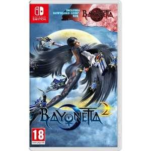 Bayonetta 2 w pudełku Nintendo Switch + kod eShop na Bayonetta 1 za 149,90zl
