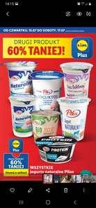 Wszystkie jogurty naturalne Pilos - drugi produkt 60% taniej