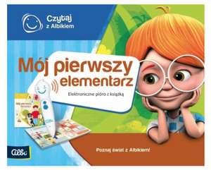Czytaj z Albikiem Zestaw pióro + Mój Pierwszy Elementarz