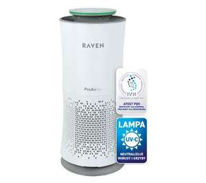Oczyszczacz powietrza RAVEN EOP003UV (UV, 3 filtry, wydajność 360m3/h, do 72m2) @ OleOle