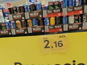 Napój Black Energy Drink 0,5l różne smaki (Tesco)