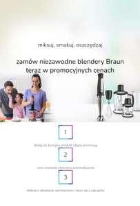 Blendery Ręczne Braun Promocja al.to(aplikacja mobilna)