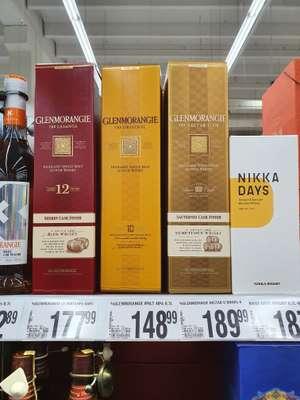Glenmorangie Nectar D'or w Auchan Okęcie w Warszawie.